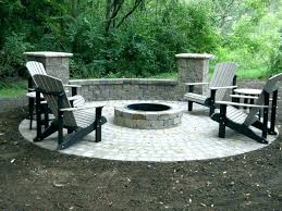 patio fire pit patio designs building a ideas large size of outdoor square concrete interior