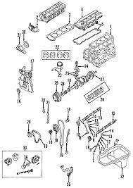 parts com® nissan xterra engine oem parts 2003 nissan xterra xe l4 2 4 liter gas engine