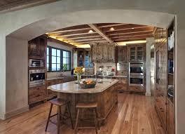 art of kitchen and bath design magazine. rustic kitchen with spacious island. #kitchen homechanneltv.com art of and bath design magazine