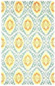Red And Turquoise Rugs Rug Exotic Orange Area Outdoor