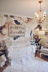 Floral Wallpaper Nursery - A Vintage ...