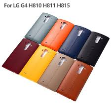 details about pu leather battery back door cover case housing nfc repair parts for lg g4 h810