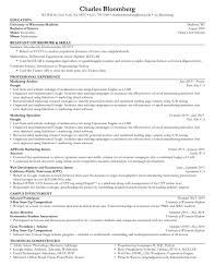 Ats Resume Templates Free Download Ats Resume Format Example Text