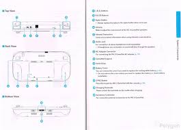 wii u instruction manual offers detailed diagrams of gamepad pro