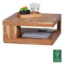 Couchtisch Glas Holz Quadratisch Recybuche Com