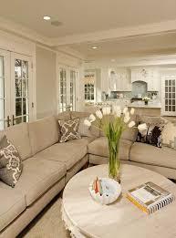 Benjamin Moore Edgecomb Gray Living Room Decorating Ideas Large Sofa Round  Coffee Table
