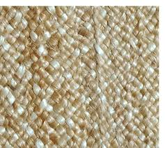 fibreworks custom braided jute rug natural