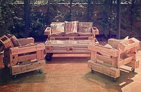 how to make garden furniture from