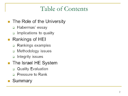 "university values university integrity"" ppt  2 table"