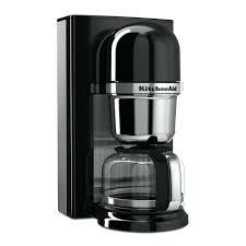 kitchenaid drip coffee maker onyx black 8 cup pour over coffee brewer kitchenaid drip coffee machine