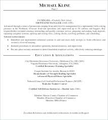 Resume Personal Statement Best Personal Statement For A Resume Personal Profile Examples For
