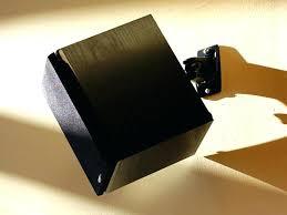 ceiling mount surround sound speakers surround sound speaker mounts 0 wall bracket wall mount surround sound