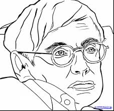 Small Picture fabulous how to draw stephen hawking with emo coloring pages