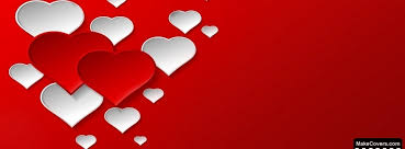 pure love hearts facebook covers