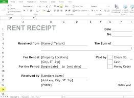 Paper Receipt Template