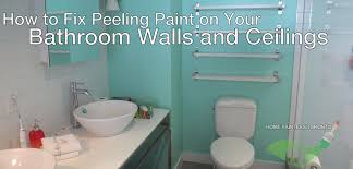 bathroom wall repair. bathroom wall repair for nice paint peeling how to prevent and