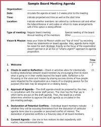 Download Simple Agenda Template Consent Example Best Agendas