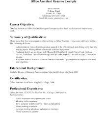 Objectives For A Medical Assistant Resume Samples Of Medical
