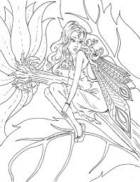 The Stylish Free Printable Fairy Coloring Pages pertaining to ...
