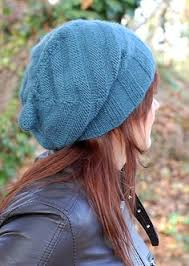 Easy Knit Hat Pattern Straight Needles Mesmerizing How To Knit An Easy Beanie Hat With Straight Needles Crafts I Want