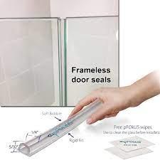 shower door seal glass shower doors