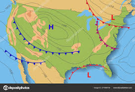 Weather Forecast Of Usa Meteorological Weather Map Of The
