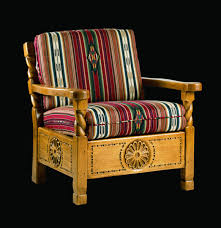 southwest style furniture. Santa Fe Easy Chair Southwest Furniture Style Spanish Craftsmen In