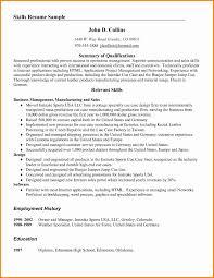 Resume Qualifications Resume Qualifications Examples Fresh 24 Summary Of Qualifications 18