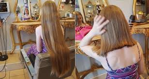 cut her hair to help her cousin