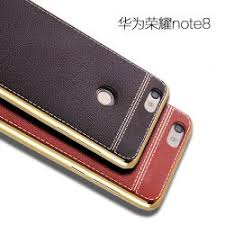 huawei honor note 8. case huawei honor note 8 leather pattern electroplated silicone tpu i