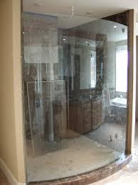 estate curved glass enclosure