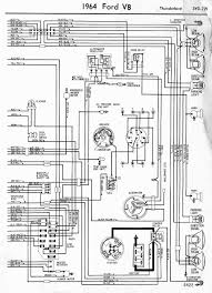 ford thunderbird engine diagram automotive wiring diagrams wiring diagrams of 1964 ford v8 thunderbird part