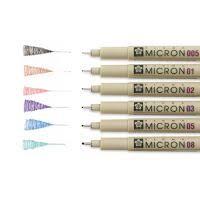 Линеры, капиллярные и ручки-кисти для рисования поштучно и в ...