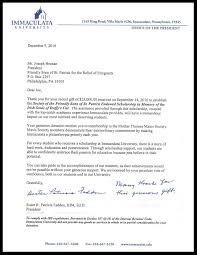 Letters Of Appreciation University Leaders The Society Of The