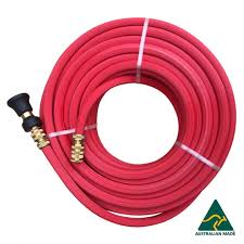 hose factory 19mm rubber pvc red fire reel hose with brass ings and high pressure