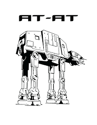 Idea Star Wars Ships Coloring Pages For At At In Star Wars Coloring