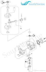 Boat motor t5 05030004 oil seal casing gasket for parsun 2 stroke t4 t5