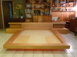 Lovable King Size Wood Bed Frame Plans Japanese Platform Bed Plans Japanese  Platformbed Building Plans King