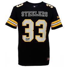 Majestic Ellsworth T-shirt Football Steelers Nfl '33 Pittsburgh