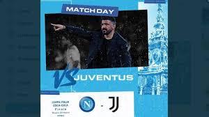 De finale was een schoolvoorbeeld van voetbal op z'n italiaans: Live Streaming Final Coppa Italia Juventus Vs Napoli Ini Prediksi Susunan Pemainnya Warta Kota