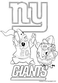 new york giants spongebob and patrick