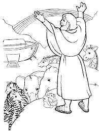 Small Picture Noah Bible Coloring Page GetColoringPagescom