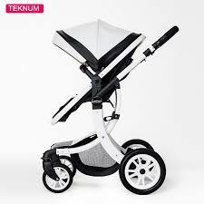 teknum 2 in 1 high landscape x design baby stroller newborn baby pram six free gift hk free delivery 0 3 year leather baby pram