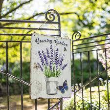 country garden metal wall art by la
