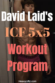 i m sure you heard david laid talk about the icf 5 5 program written by jason blaha david used this program to build mive strength at the age of 17