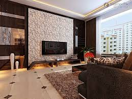 Modern Stylish Three Bedroom Living Room TV Background Wall Decoration  Effect Chart Greatly Entire 2012 Picture