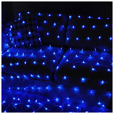 Blue Outdoor Lights Sunny Seat Net Lights Blue 200 Led Net Lights Fairy Blinking Indoor Outdoor Lights Home Party Garden Lawn Indoor Decorations Lights 9 8ftx 6 5ft