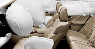 airbags for front passenger seats to