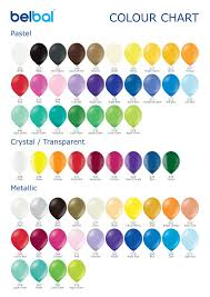 New Colour Chart And Presenter Belbal