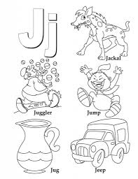 Small Picture Letter J Coloring Page to Inspire to color page Cool Coloring